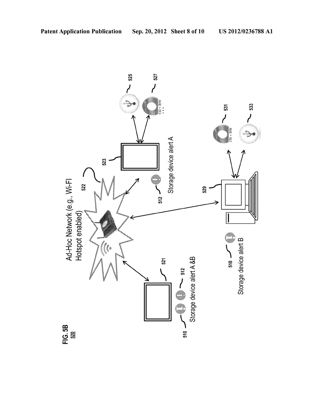METHOD AND SYSTEM FOR ACCESSING STORAGE DEVICES - diagram, schematic, and image 09
