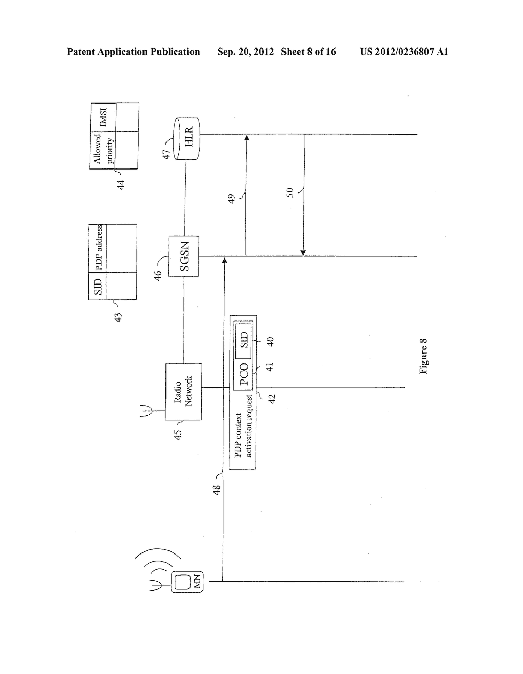 TELECOMMUNICATIONS SYSTEM AND METHOD - diagram, schematic, and image 09
