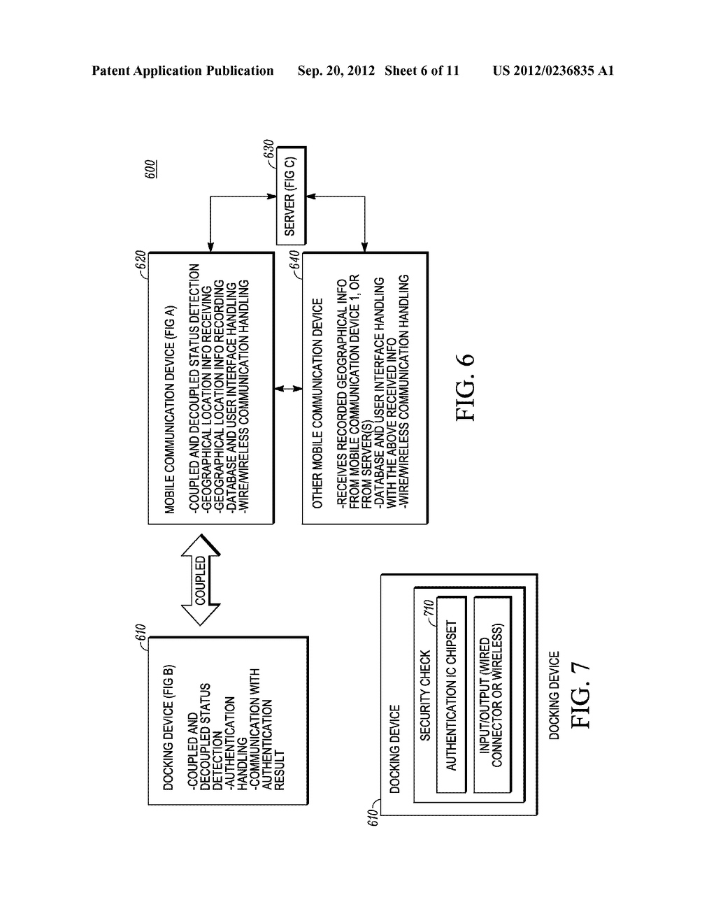 METHOD AND SYSTEM FOR RECORDING A GEOGRAPHICAL LOCATION FROM A MOBILE     COMMUNICATION DEVICE - diagram, schematic, and image 07