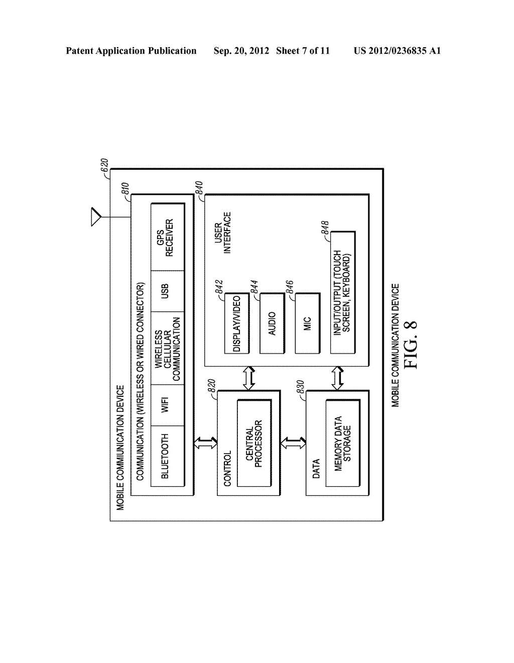 METHOD AND SYSTEM FOR RECORDING A GEOGRAPHICAL LOCATION FROM A MOBILE     COMMUNICATION DEVICE - diagram, schematic, and image 08