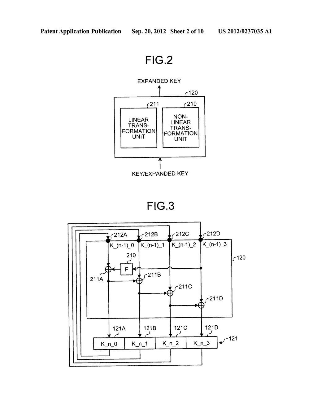 KEY SCHEDULING DEVICE AND KEY SCHEDULING METHOD - diagram, schematic, and image 03