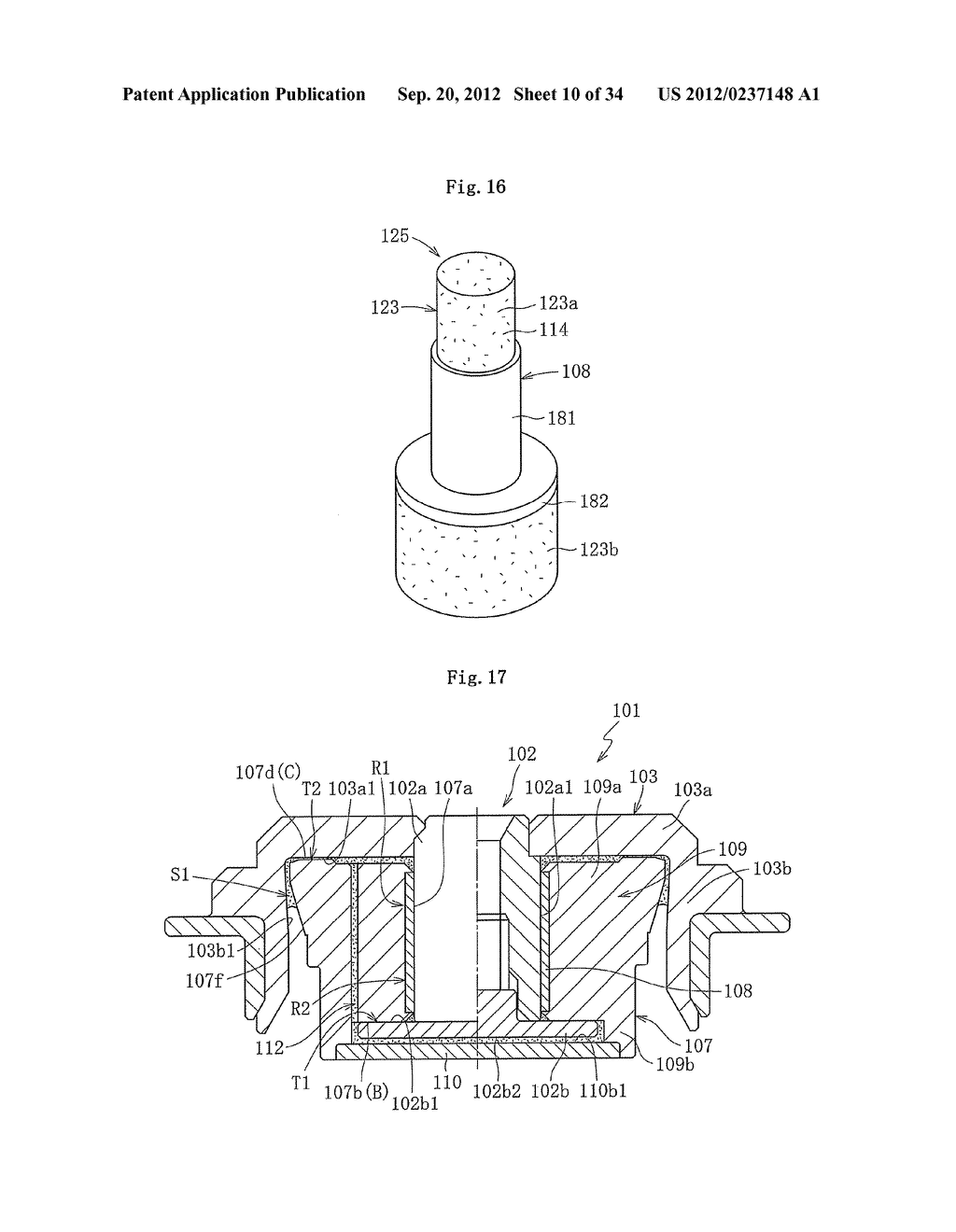 FLUID DYNAMIC BEARING DEVICE - diagram, schematic, and image 11