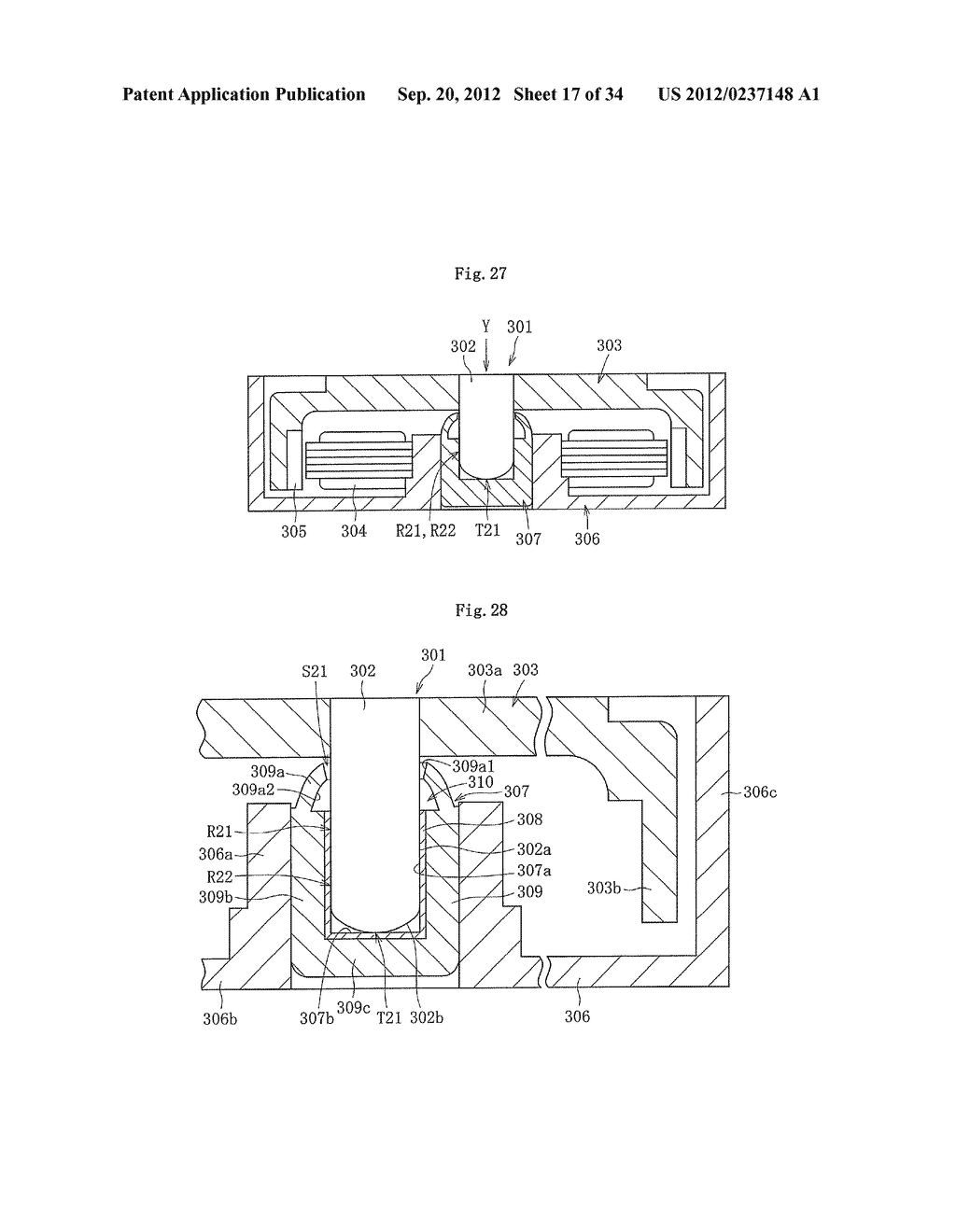 FLUID DYNAMIC BEARING DEVICE - diagram, schematic, and image 18