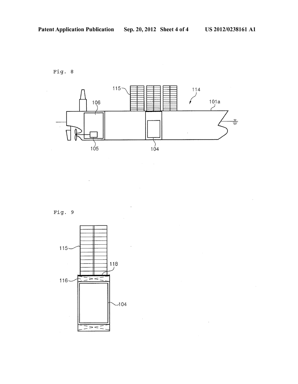 FLOATING STRUCTURE WITH FUEL TANK FOR GAS FUEL - diagram, schematic, and image 05