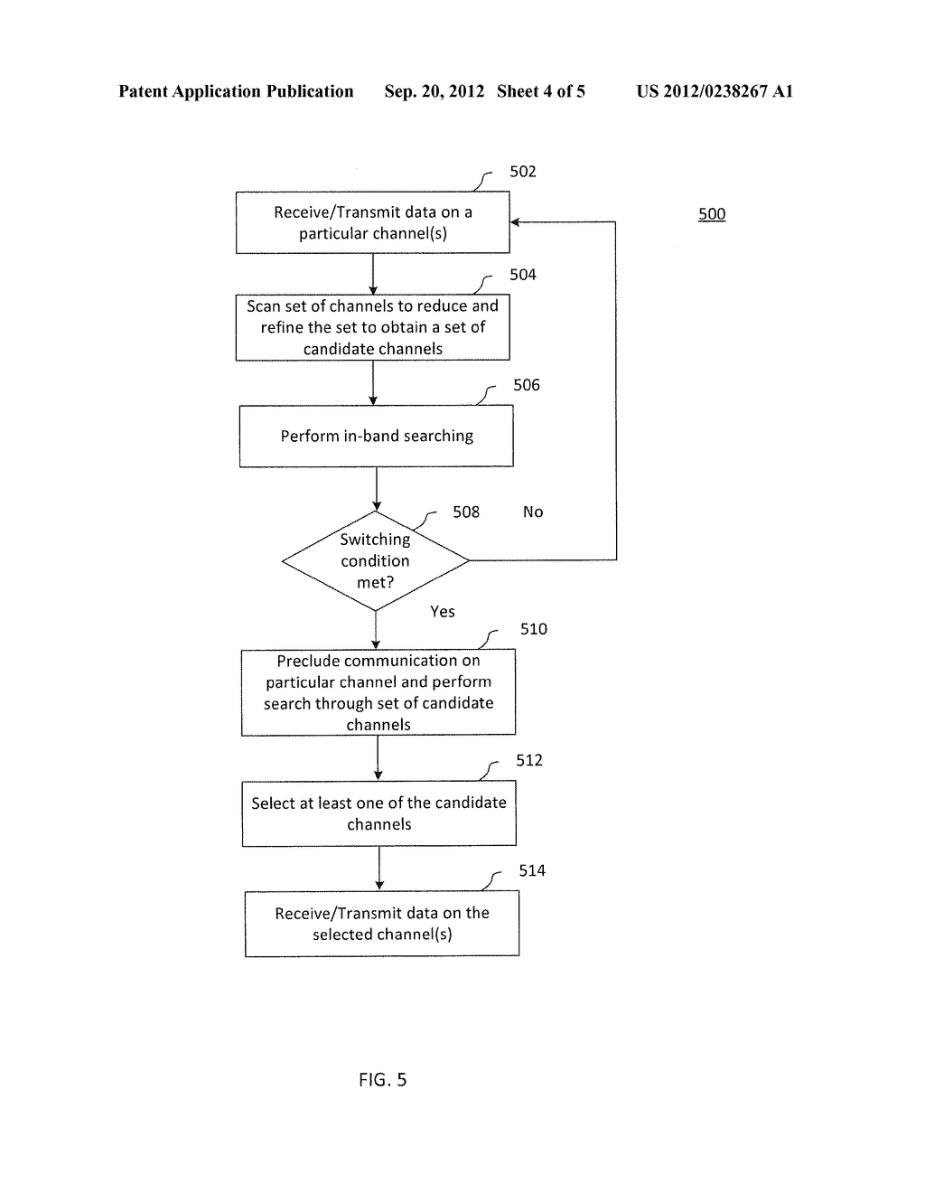 MULTIPLE STAGE HYBRID SPECTRUM SENSING METHODS AND SYSTEMS FOR COGNITIVE     RADIO - diagram, schematic, and image 05