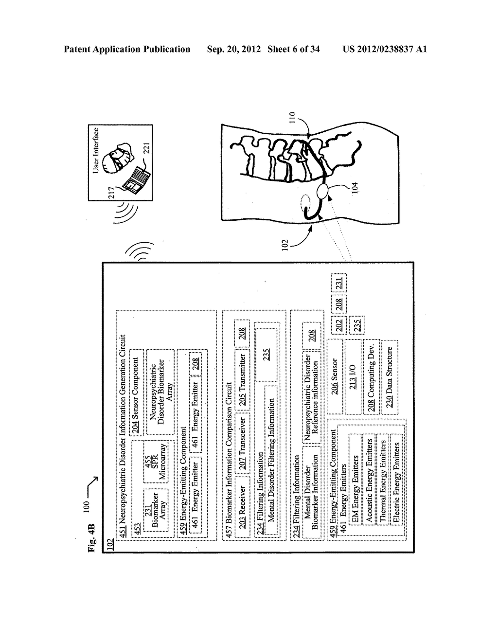 System, devices, and methods for real-time monitoring of cerebrospinal     fluid for markers of progressive conditions - diagram, schematic, and image 07