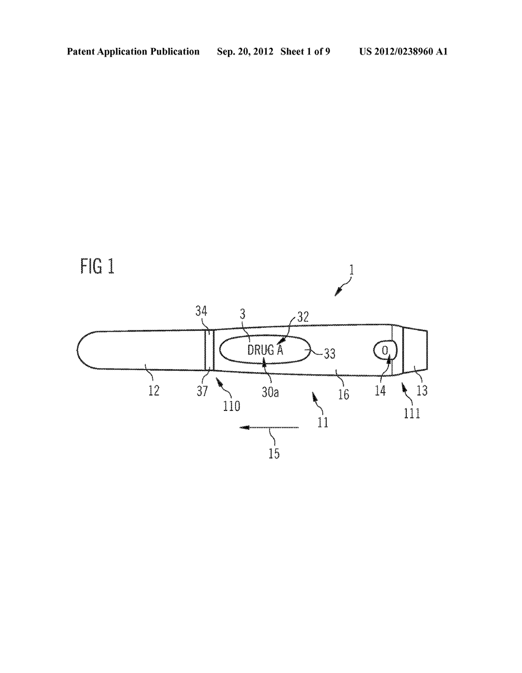 DRUG DELIVERY DEVICE AND SET OF A DRUG DELIVERY DEVICE AND A PLURALITY OF     MOUNTABLE ELEMENTS - diagram, schematic, and image 02