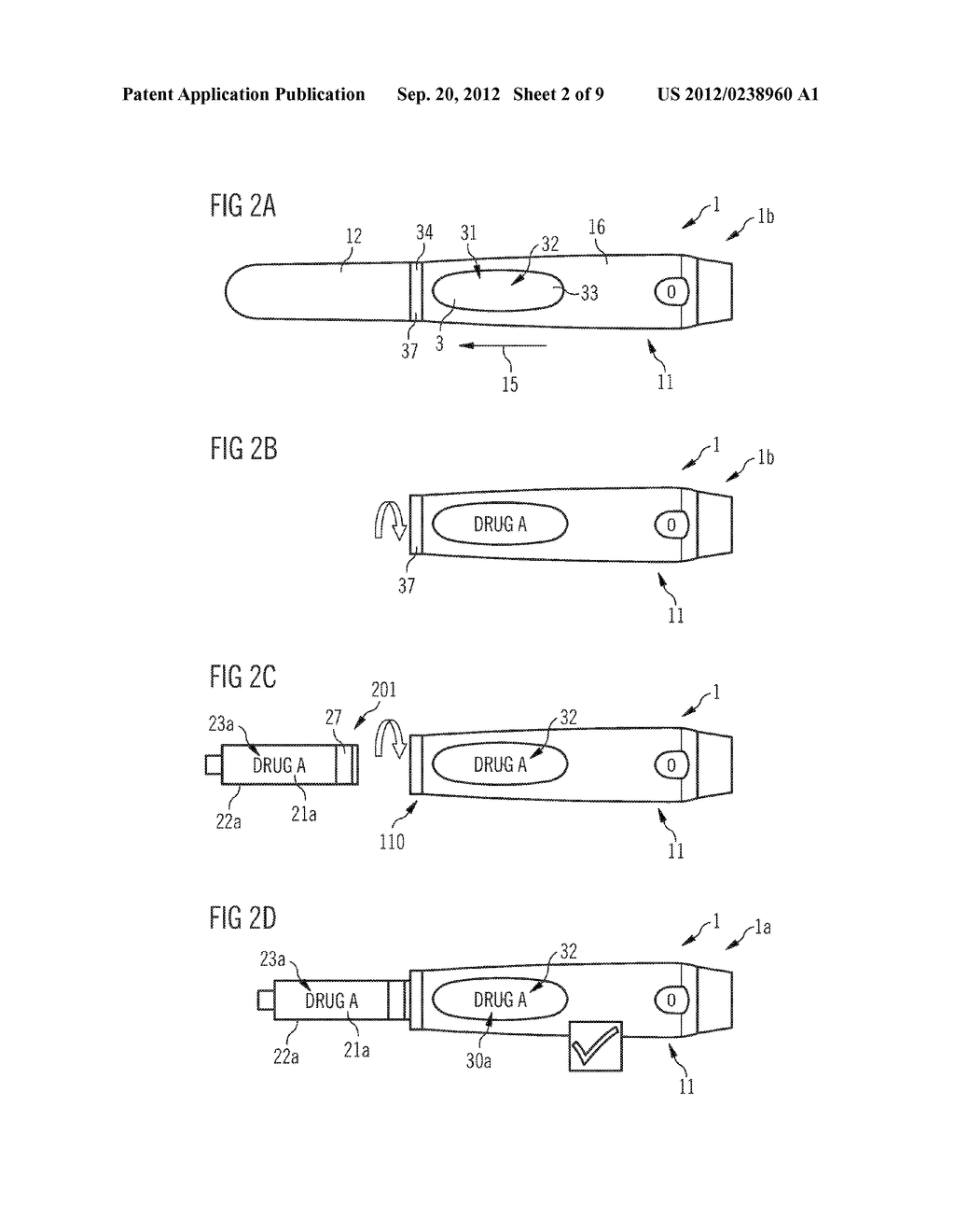 DRUG DELIVERY DEVICE AND SET OF A DRUG DELIVERY DEVICE AND A PLURALITY OF     MOUNTABLE ELEMENTS - diagram, schematic, and image 03