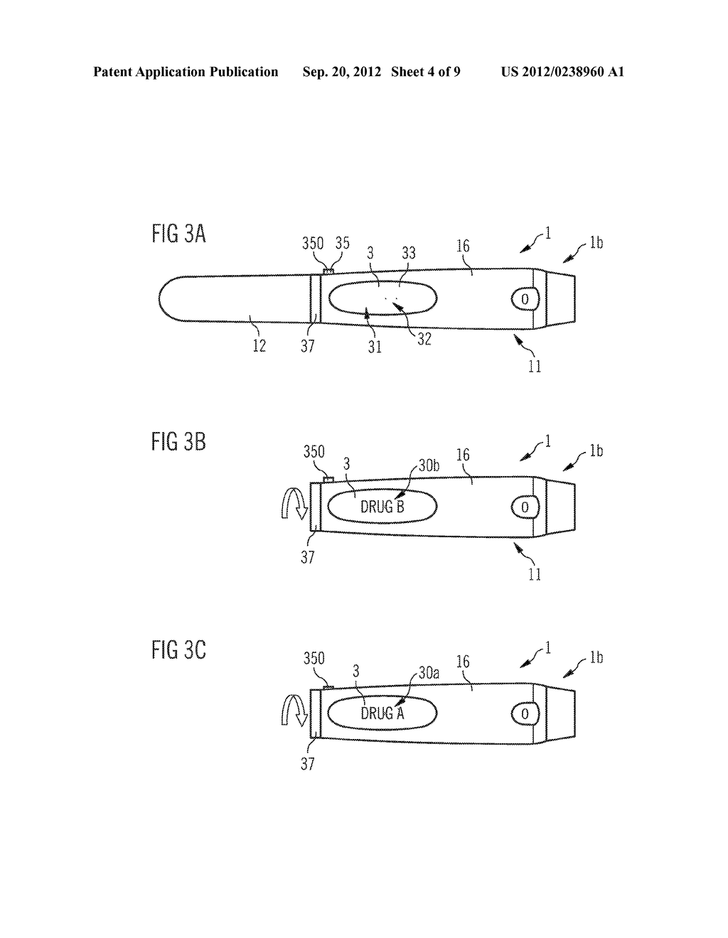 DRUG DELIVERY DEVICE AND SET OF A DRUG DELIVERY DEVICE AND A PLURALITY OF     MOUNTABLE ELEMENTS - diagram, schematic, and image 05