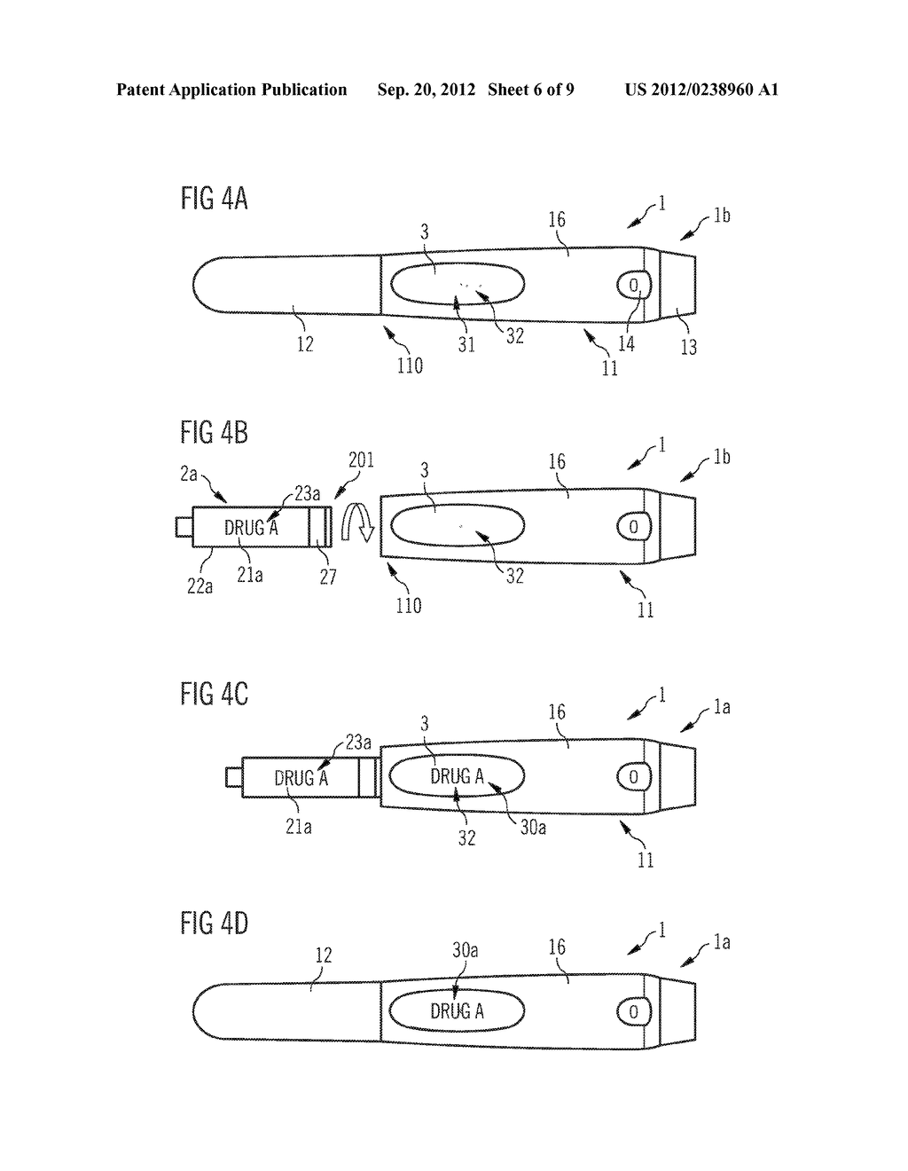 DRUG DELIVERY DEVICE AND SET OF A DRUG DELIVERY DEVICE AND A PLURALITY OF     MOUNTABLE ELEMENTS - diagram, schematic, and image 07