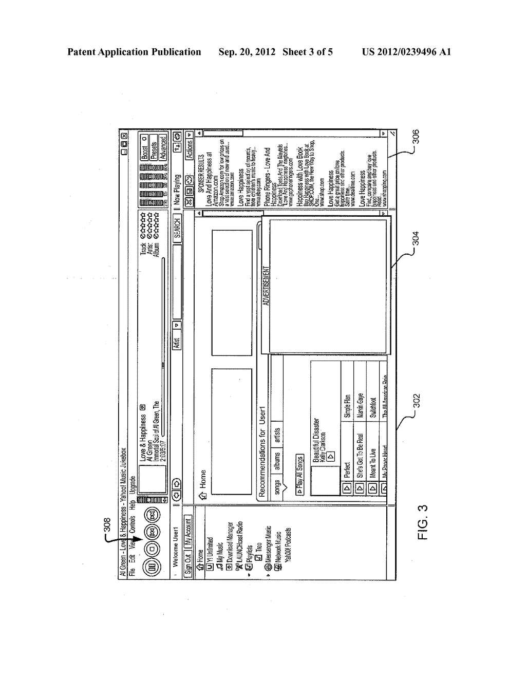 METHOD AND SYSTEM FOR DISPLAYING CONTEXTUAL ADVERTISEMENTS WITH MEDIA - diagram, schematic, and image 04
