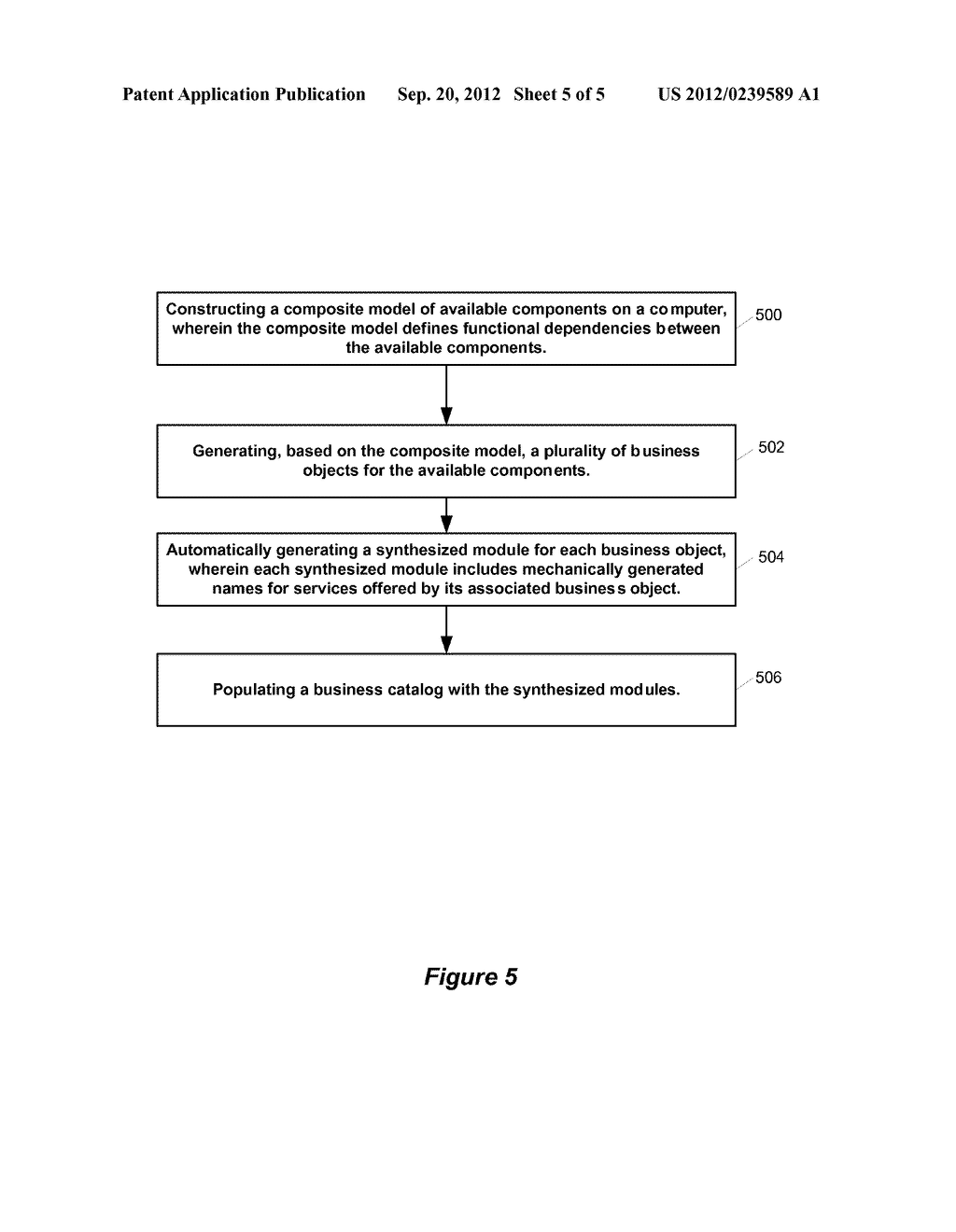 SYSTEM AND METHOD FOR MAINTAINING A BUSINESS CATALOG - diagram, schematic, and image 06