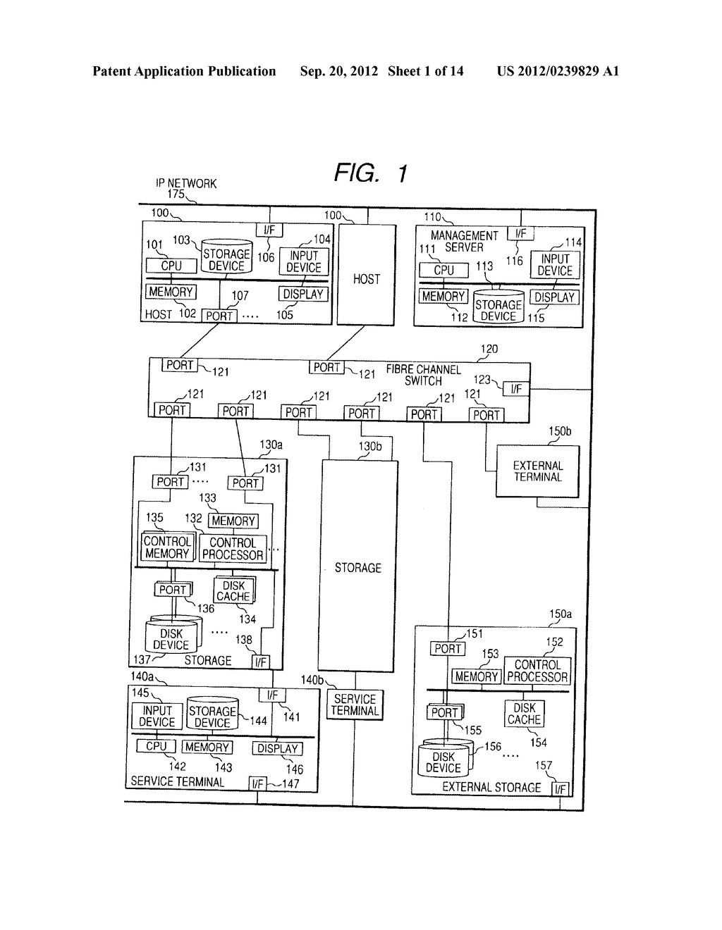 CONTROL METHOD OF DEVICE IN STORAGE SYSTEM FOR VIRTUALIZATION - diagram, schematic, and image 02
