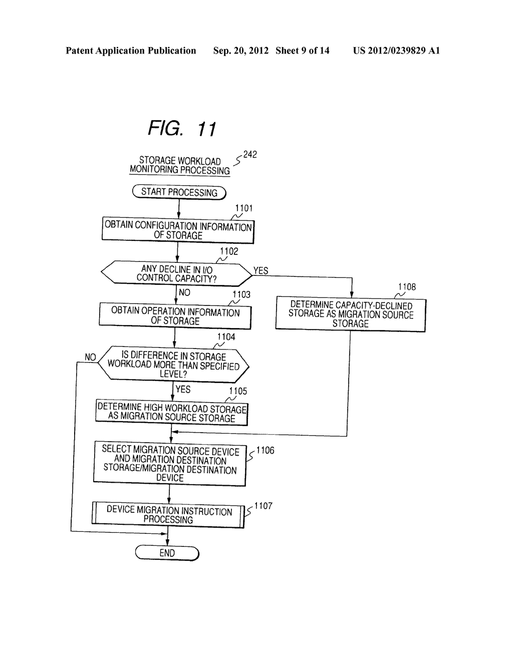 CONTROL METHOD OF DEVICE IN STORAGE SYSTEM FOR VIRTUALIZATION - diagram, schematic, and image 10