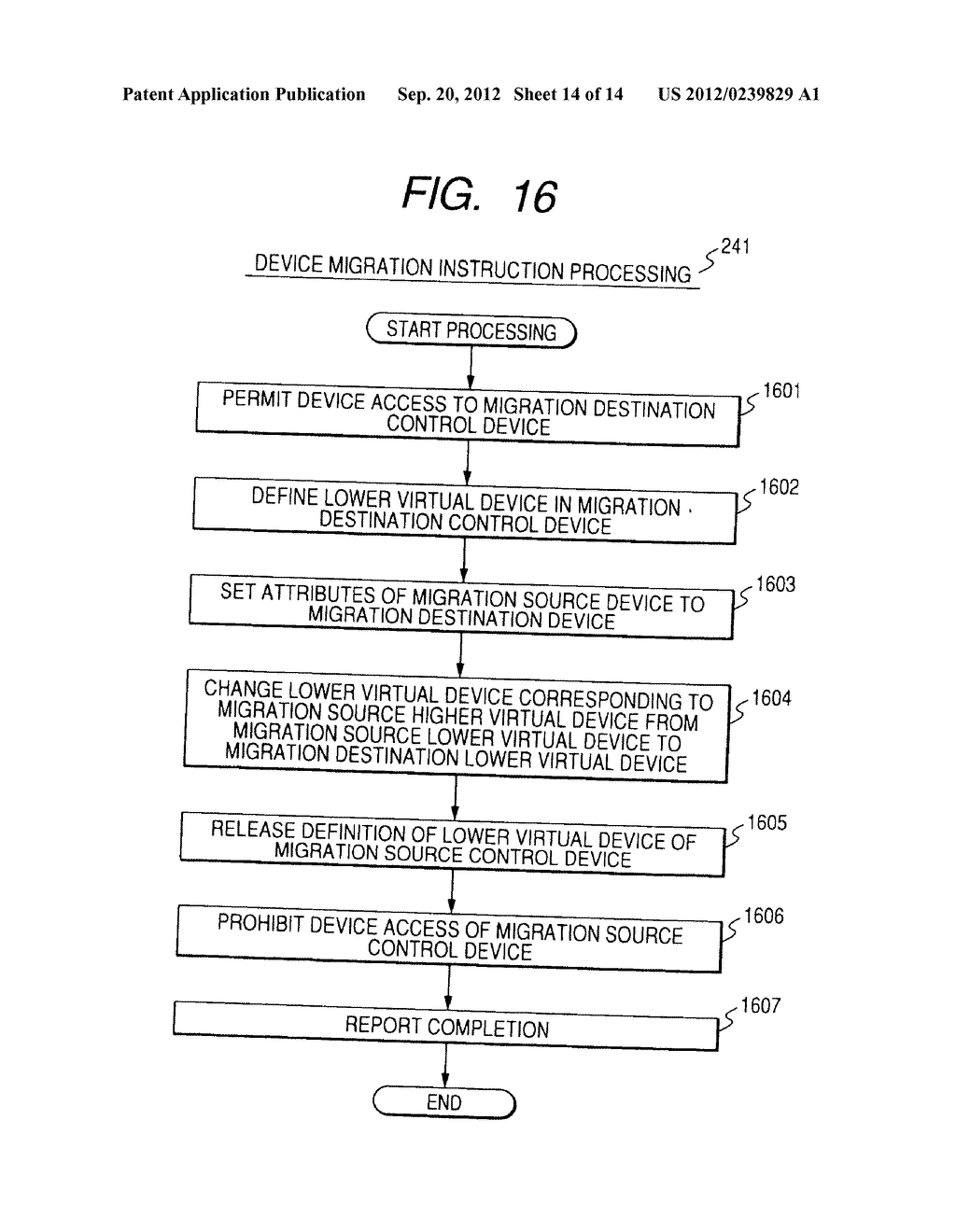 CONTROL METHOD OF DEVICE IN STORAGE SYSTEM FOR VIRTUALIZATION - diagram, schematic, and image 15