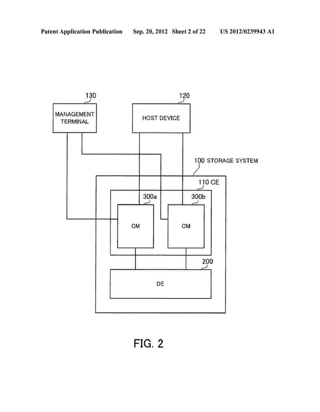 STORAGE SYSTEM, STORAGE CONTROL APPARATUS, AND STORAGE CONTROL METHOD - diagram, schematic, and image 03