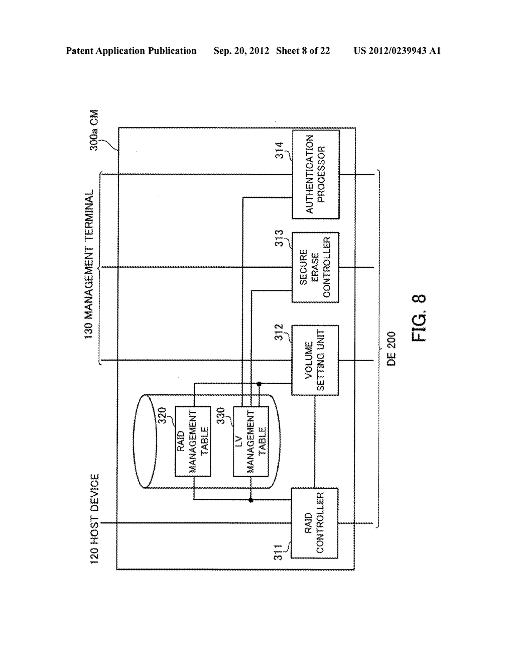 STORAGE SYSTEM, STORAGE CONTROL APPARATUS, AND STORAGE CONTROL METHOD - diagram, schematic, and image 09