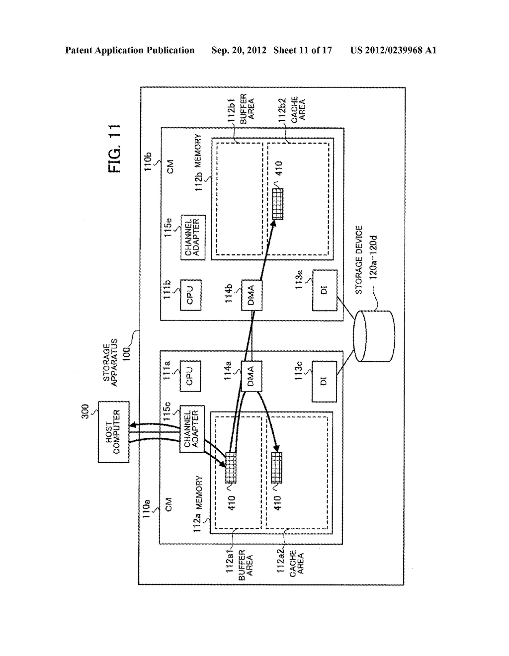 STORAGE APPARATUS, CONTROL APPARATUS, AND STORAGE APPARATUS CONTROL METHOD - diagram, schematic, and image 12