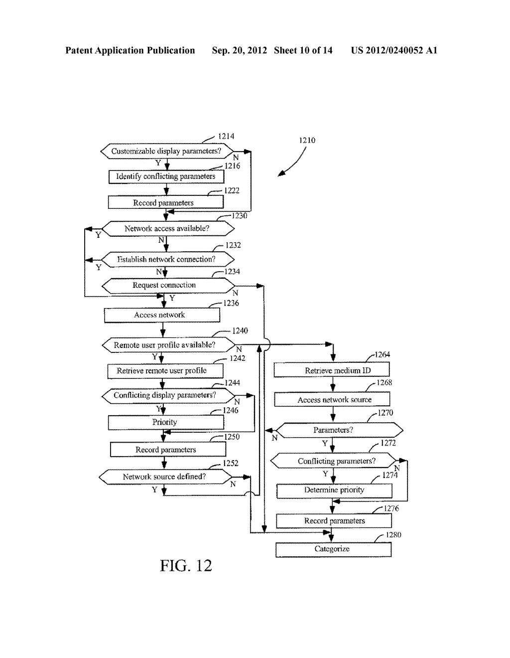 METHODS AND SYSTEMS FOR USE IN CUSTOMIZING DISPLAYED CONTENT ASSOCIATED     WITH A PORTABLE STORAGE MEDIUM - diagram, schematic, and image 11