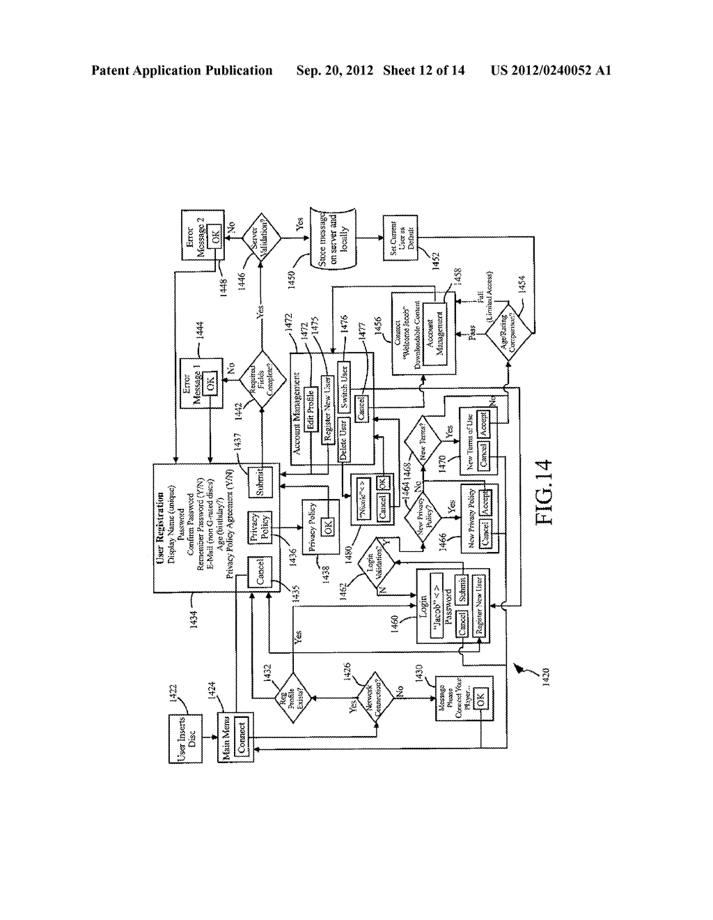 METHODS AND SYSTEMS FOR USE IN CUSTOMIZING DISPLAYED CONTENT ASSOCIATED     WITH A PORTABLE STORAGE MEDIUM - diagram, schematic, and image 13