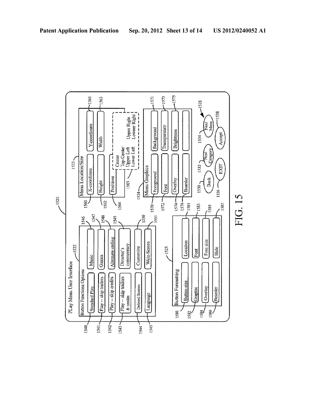 METHODS AND SYSTEMS FOR USE IN CUSTOMIZING DISPLAYED CONTENT ASSOCIATED     WITH A PORTABLE STORAGE MEDIUM - diagram, schematic, and image 14
