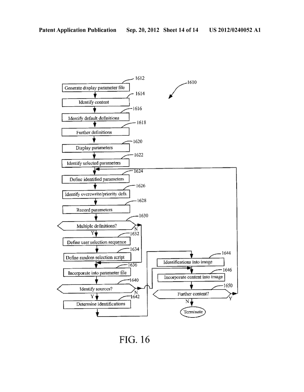 METHODS AND SYSTEMS FOR USE IN CUSTOMIZING DISPLAYED CONTENT ASSOCIATED     WITH A PORTABLE STORAGE MEDIUM - diagram, schematic, and image 15