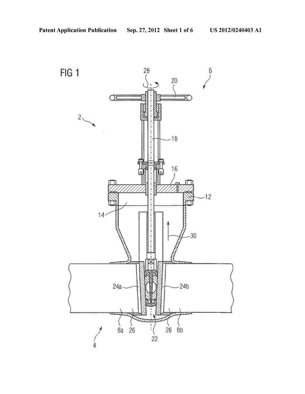 METHOD AND DEVICE FOR MACHINING A SEALING SEAT OF A SHUT-OFF VALVE - diagram, schematic, and image 02