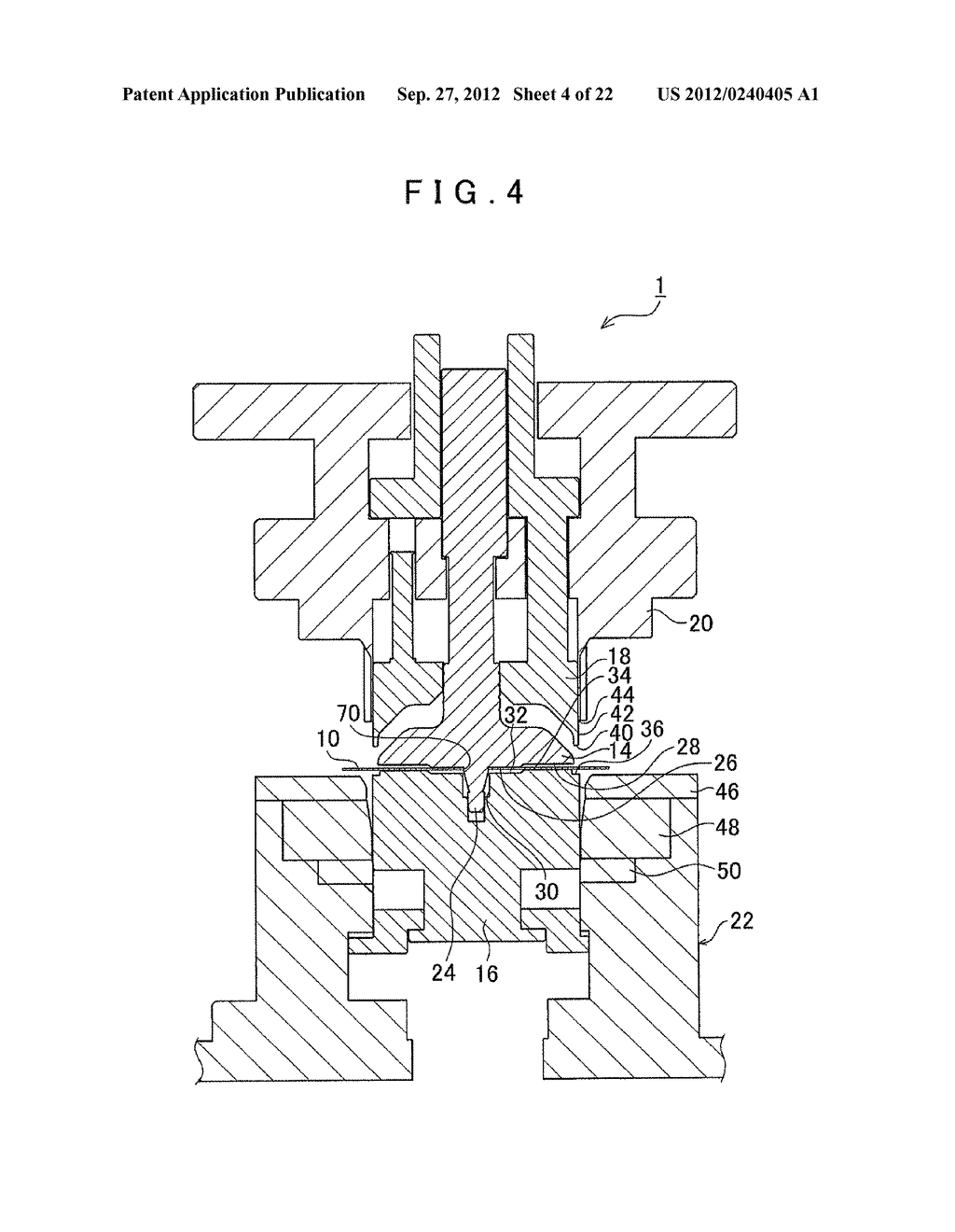 MANUFACTURING METHOD FOR TOOTHED PART AND MANUFACTURING DEVICE FOR TOOTHED     PART - diagram, schematic, and image 05