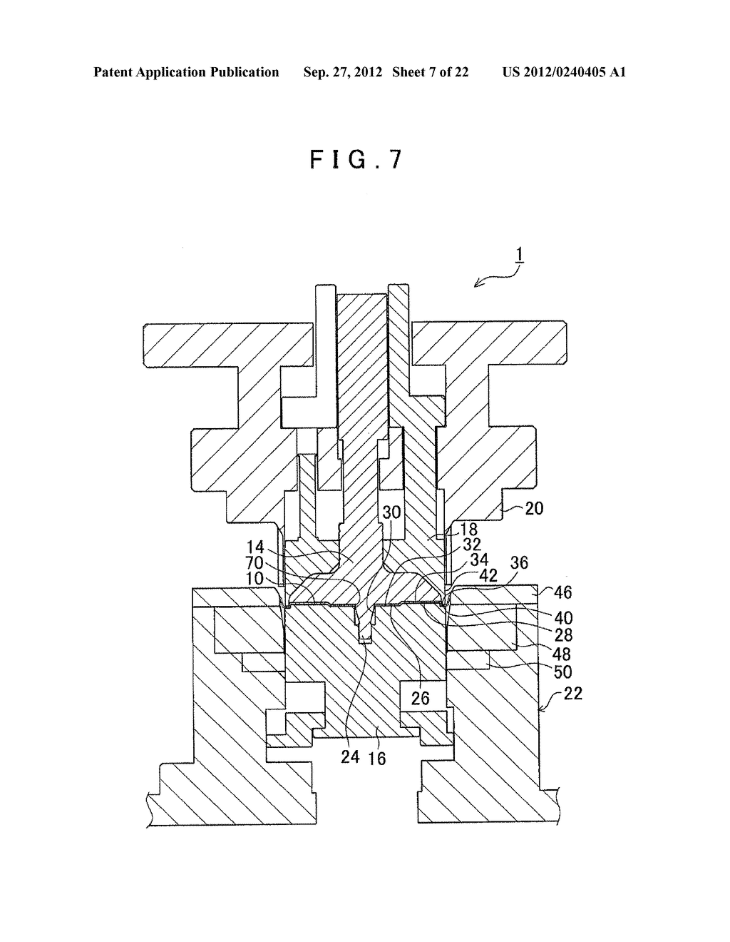 MANUFACTURING METHOD FOR TOOTHED PART AND MANUFACTURING DEVICE FOR TOOTHED     PART - diagram, schematic, and image 08