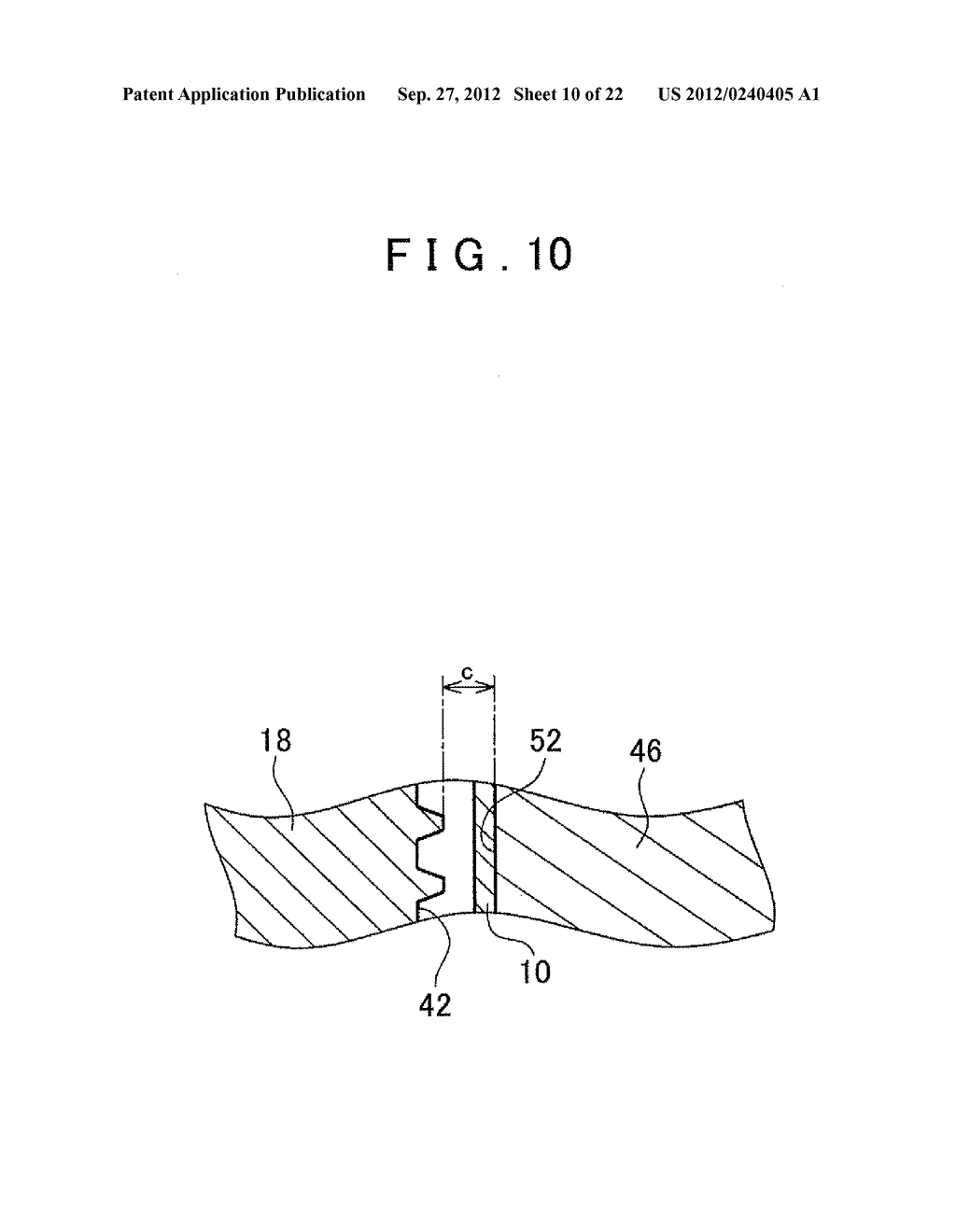 MANUFACTURING METHOD FOR TOOTHED PART AND MANUFACTURING DEVICE FOR TOOTHED     PART - diagram, schematic, and image 11