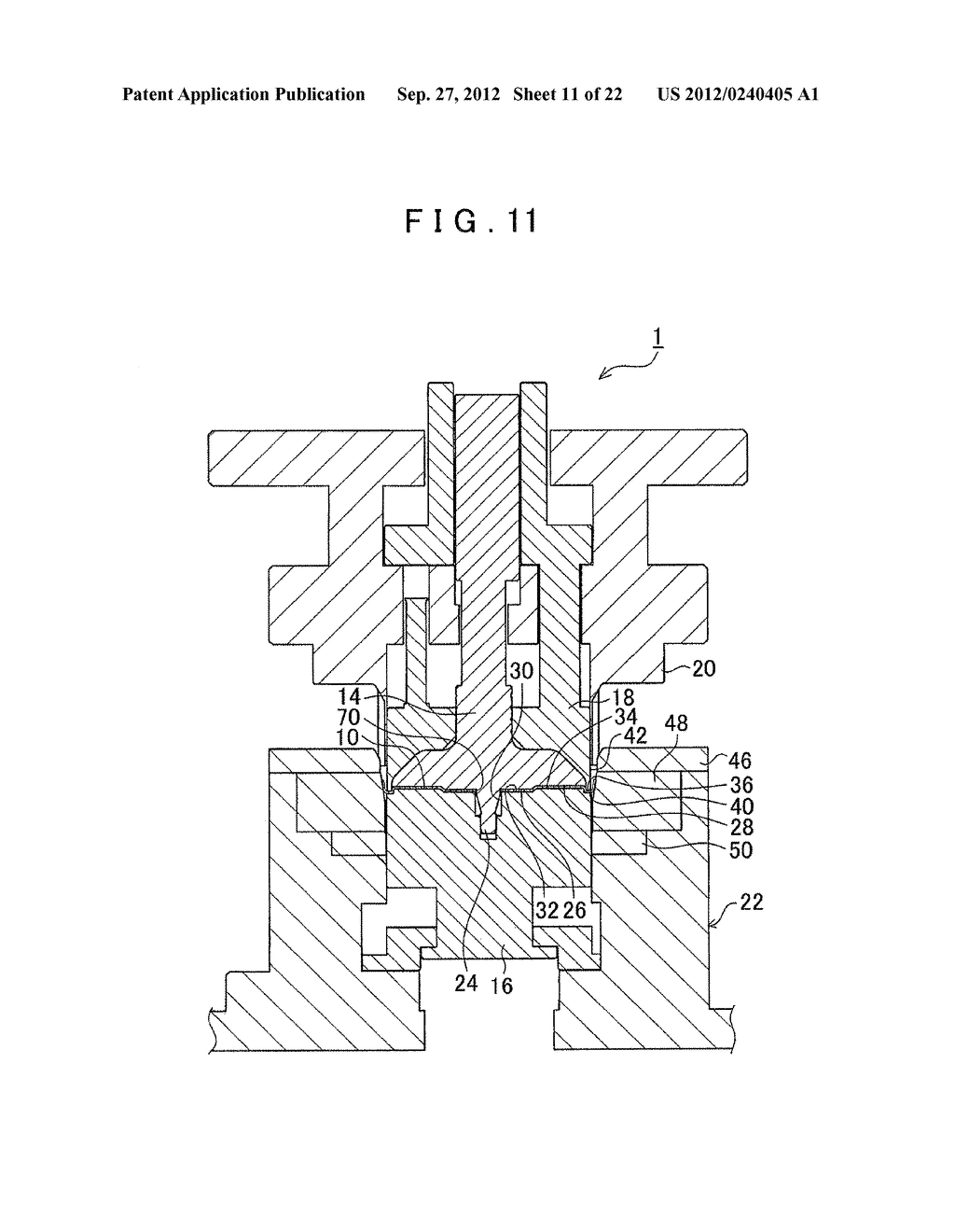 MANUFACTURING METHOD FOR TOOTHED PART AND MANUFACTURING DEVICE FOR TOOTHED     PART - diagram, schematic, and image 12