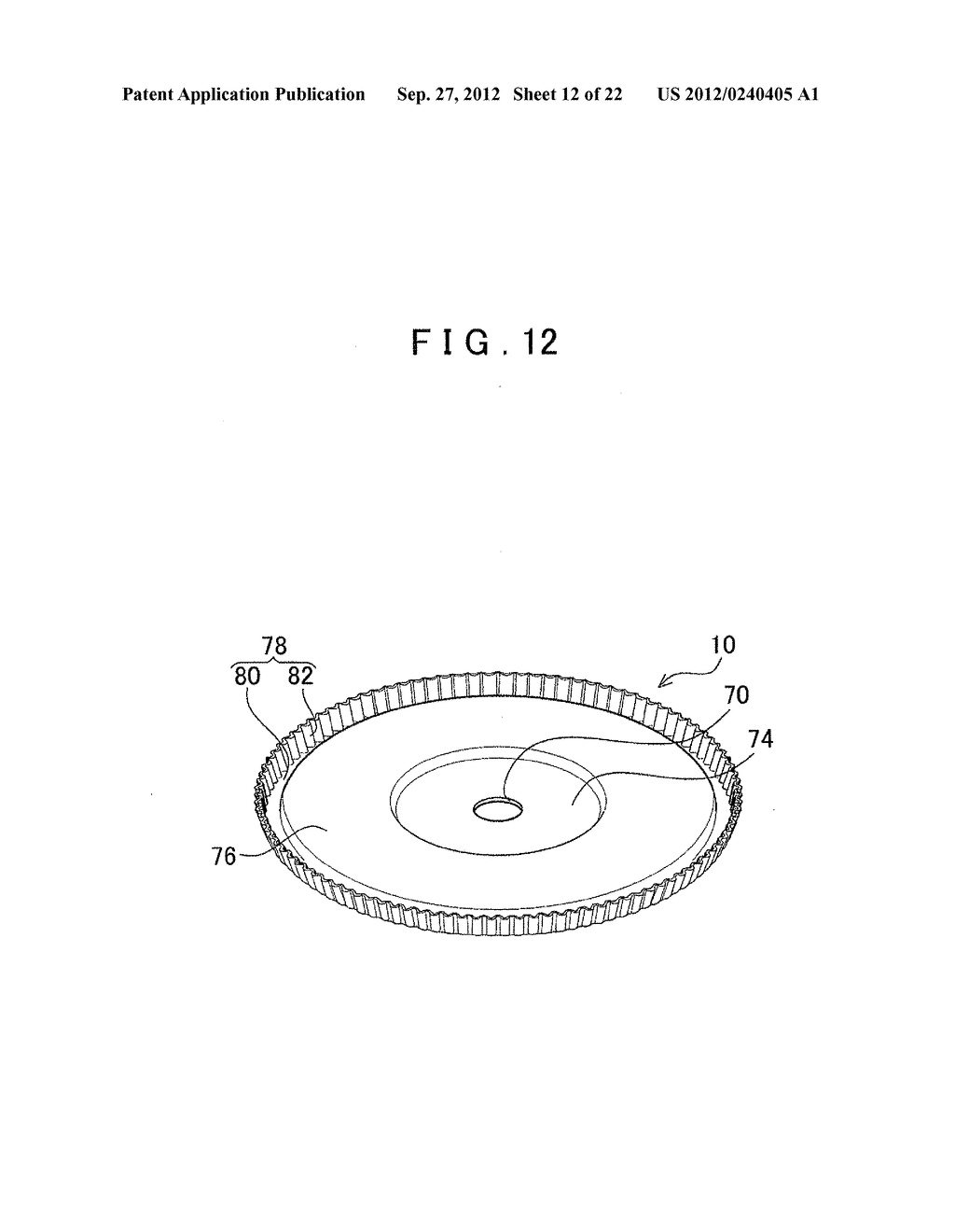 MANUFACTURING METHOD FOR TOOTHED PART AND MANUFACTURING DEVICE FOR TOOTHED     PART - diagram, schematic, and image 13