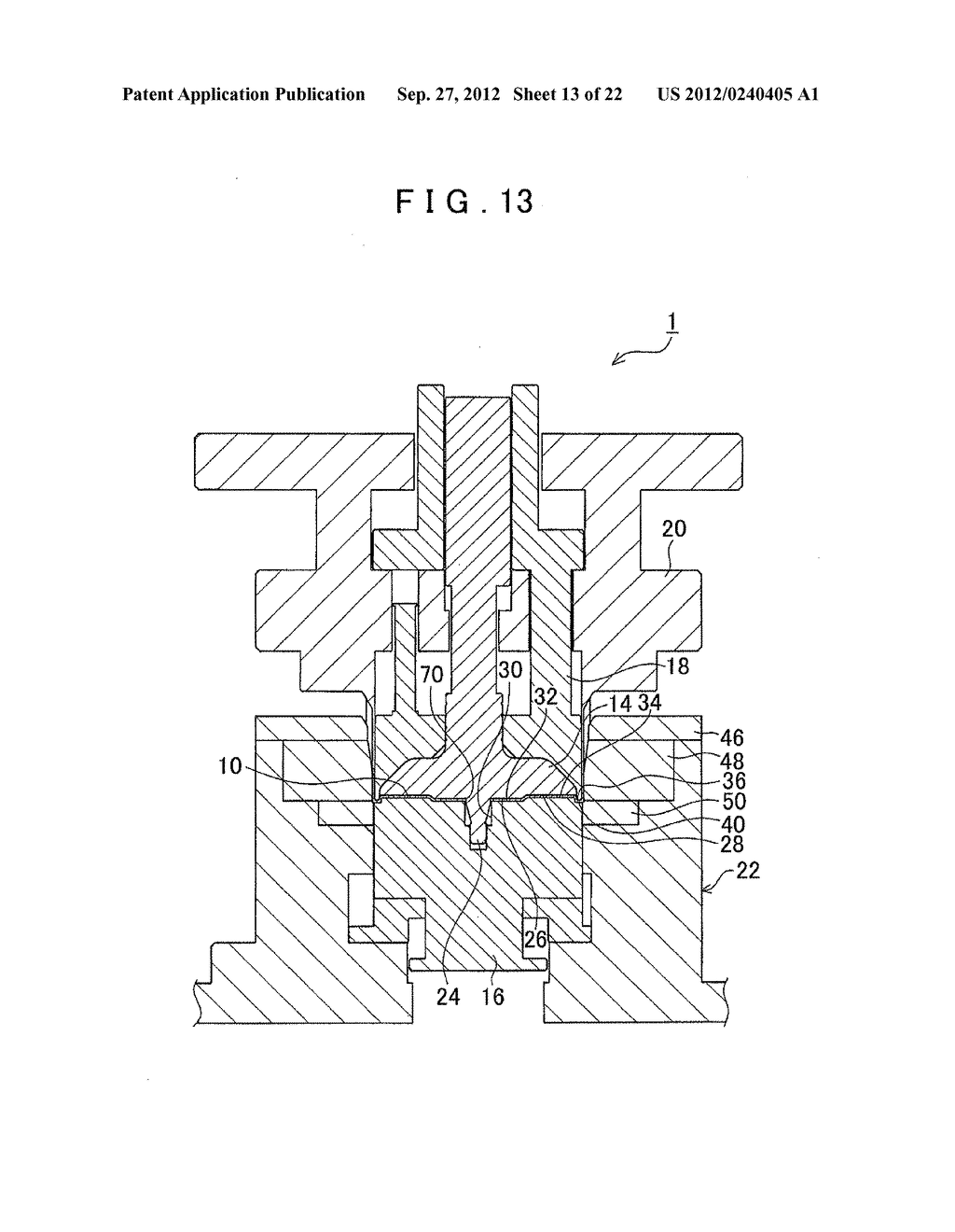 MANUFACTURING METHOD FOR TOOTHED PART AND MANUFACTURING DEVICE FOR TOOTHED     PART - diagram, schematic, and image 14