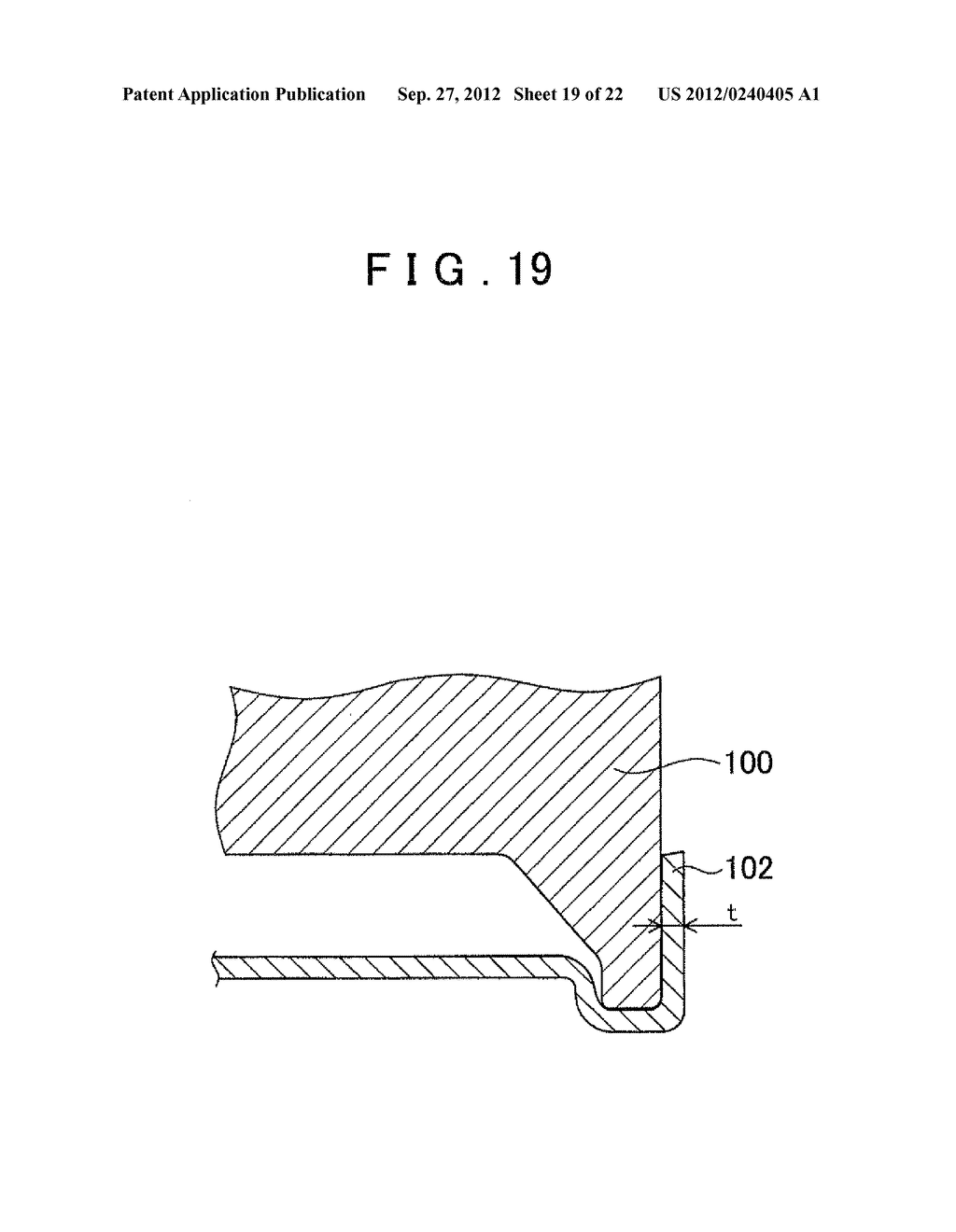 MANUFACTURING METHOD FOR TOOTHED PART AND MANUFACTURING DEVICE FOR TOOTHED     PART - diagram, schematic, and image 20