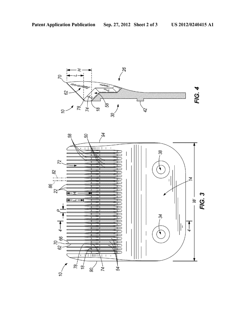 BLADE FOR A HAIR CLIPPER - diagram, schematic, and image 03
