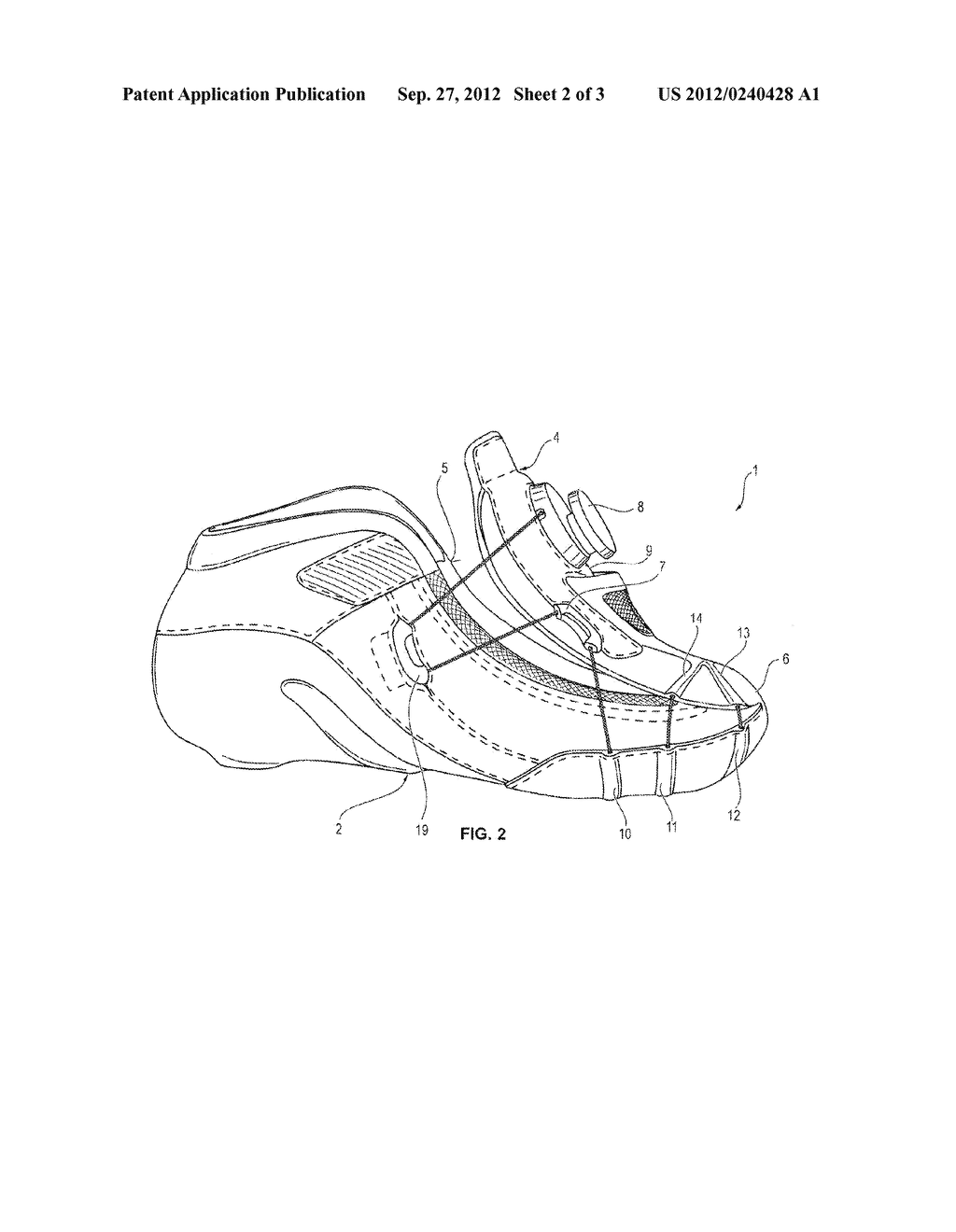 SPORTS SHOE - diagram, schematic, and image 03