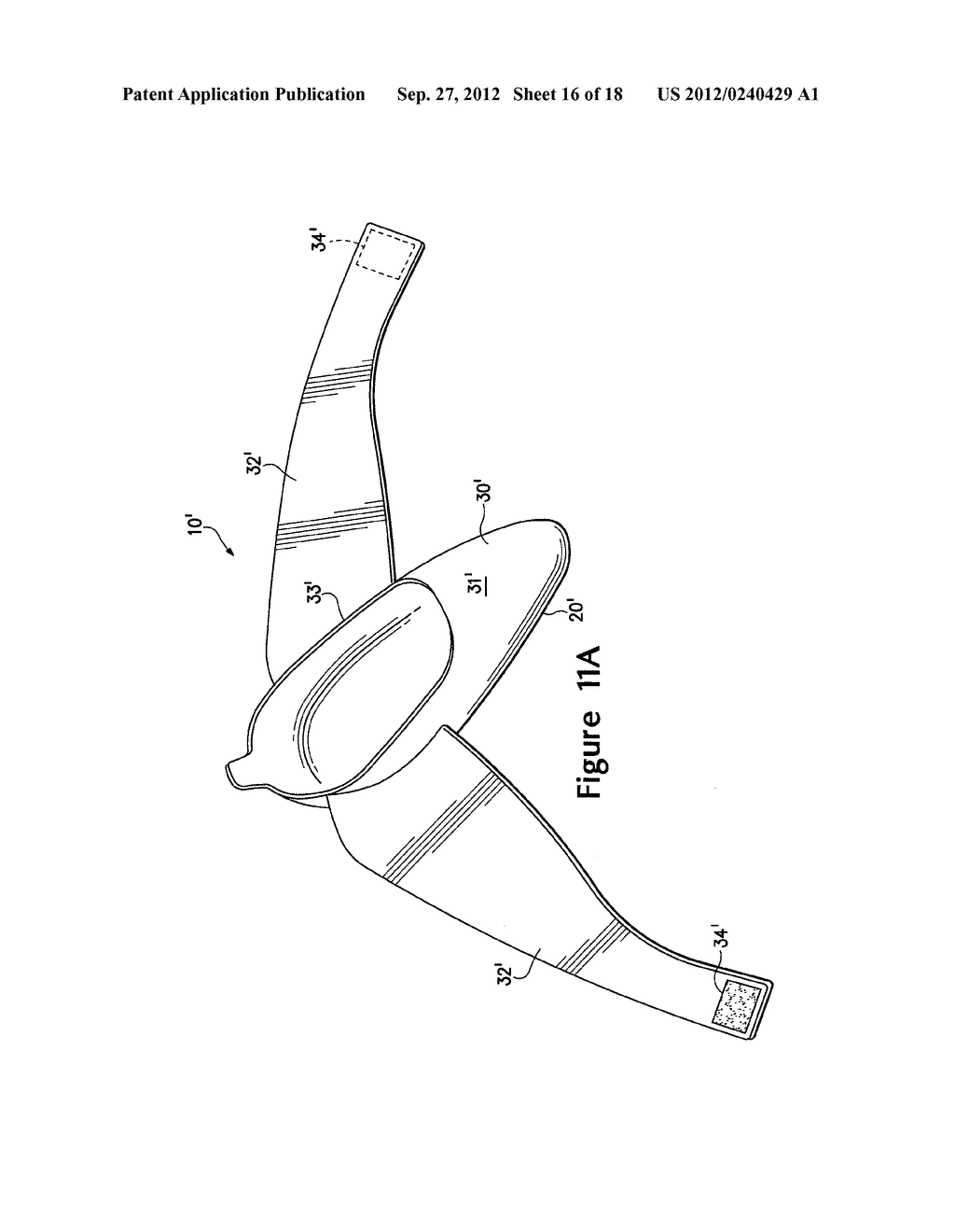 ARTICLE OF FOOTWEAR HAVING A FLAT KNIT UPPER CONSTRUCTION OR OTHER UPPER     CONSTRUCTION - diagram, schematic, and image 17