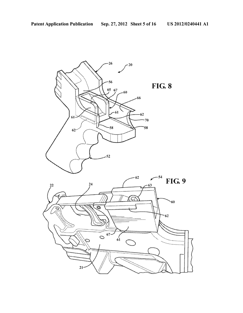 SLIDE STOCK FOR FIREARM WITH CONTOURED FINGER REST - diagram, schematic, and image 06