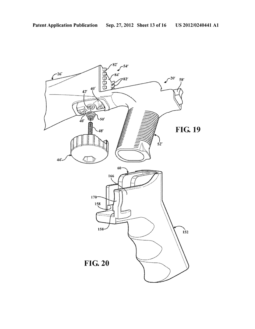 SLIDE STOCK FOR FIREARM WITH CONTOURED FINGER REST - diagram, schematic, and image 14