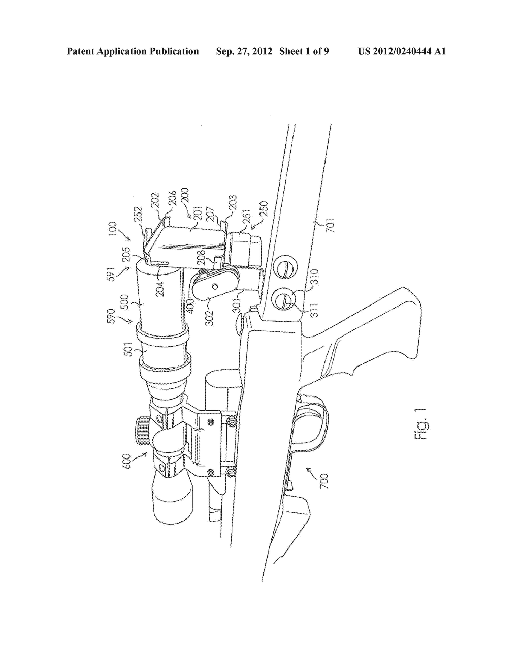 Camera Mount Apparatus and System for a Scope - diagram, schematic, and image 02