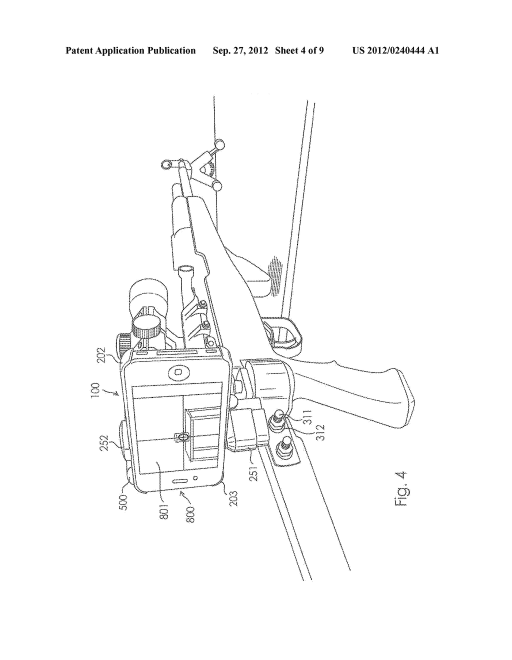 Camera Mount Apparatus and System for a Scope - diagram, schematic, and image 05
