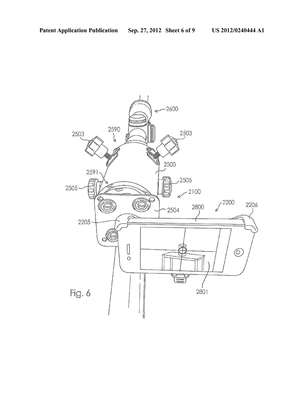Camera Mount Apparatus and System for a Scope - diagram, schematic, and image 07