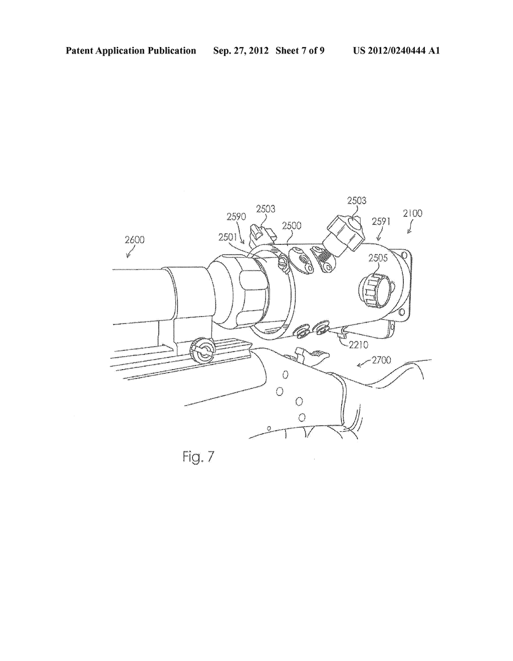 Camera Mount Apparatus and System for a Scope - diagram, schematic, and image 08