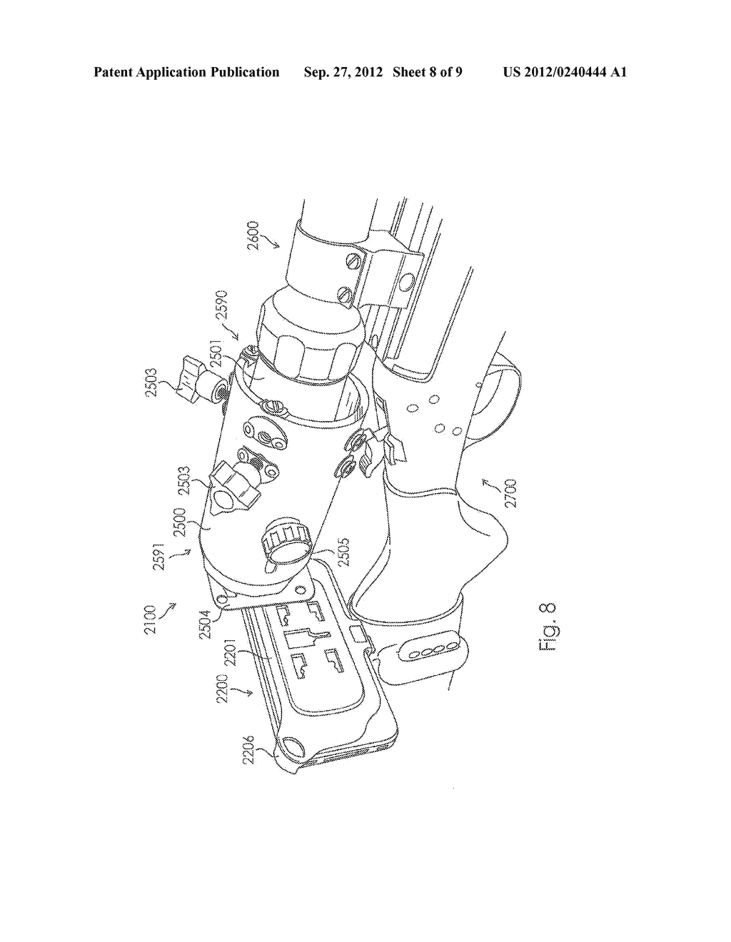 Camera Mount Apparatus and System for a Scope - diagram, schematic, and image 09