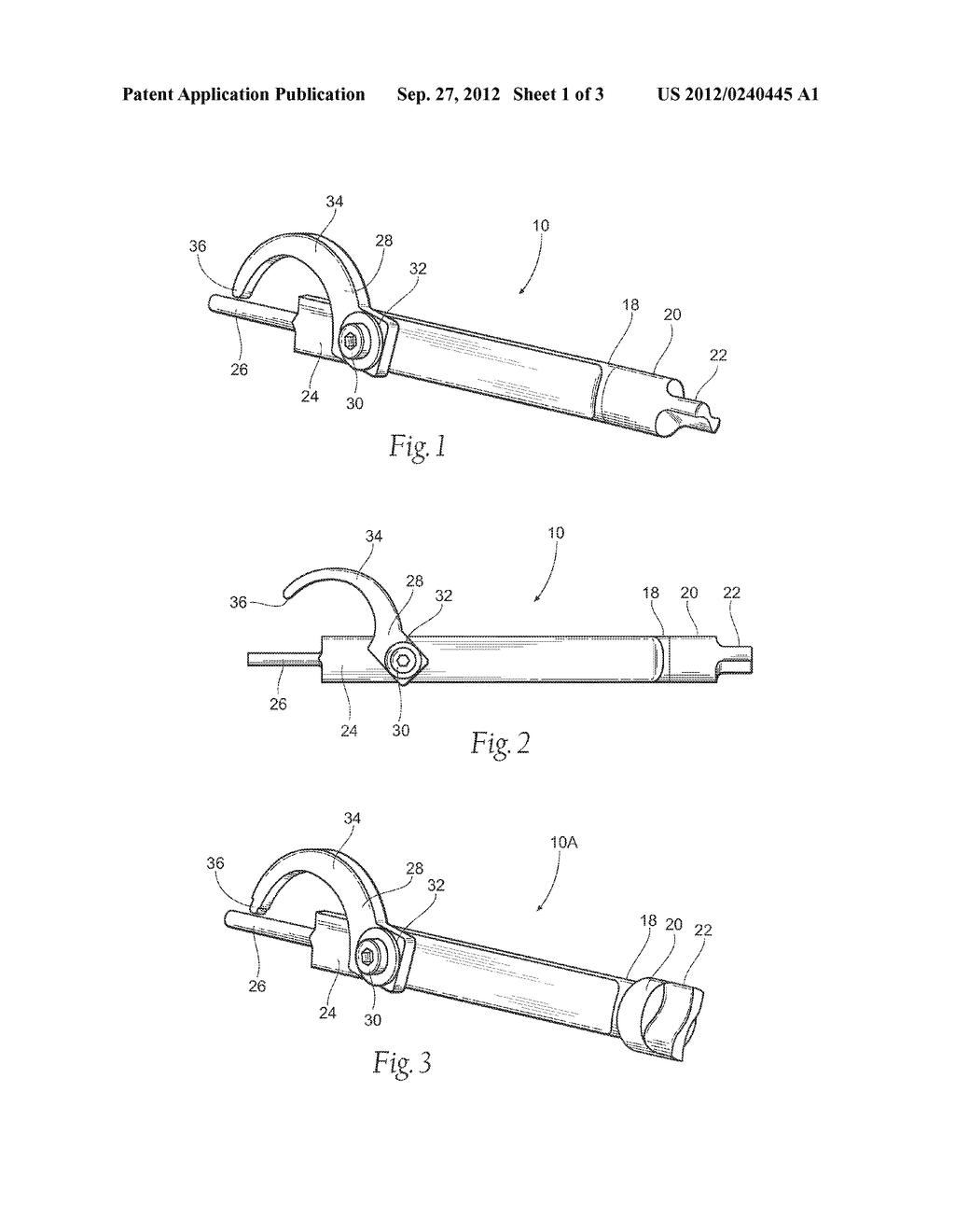 FIREARM CLEANING TOOL AND METHOD OF USING - diagram, schematic, and image 02