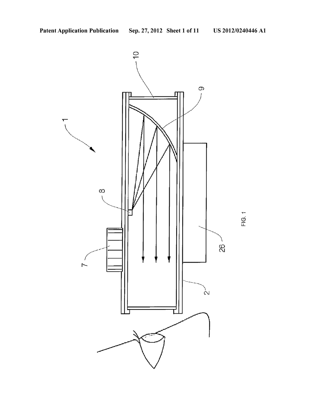 Device for Multi-Correcting the Trajectory - diagram, schematic, and image 02
