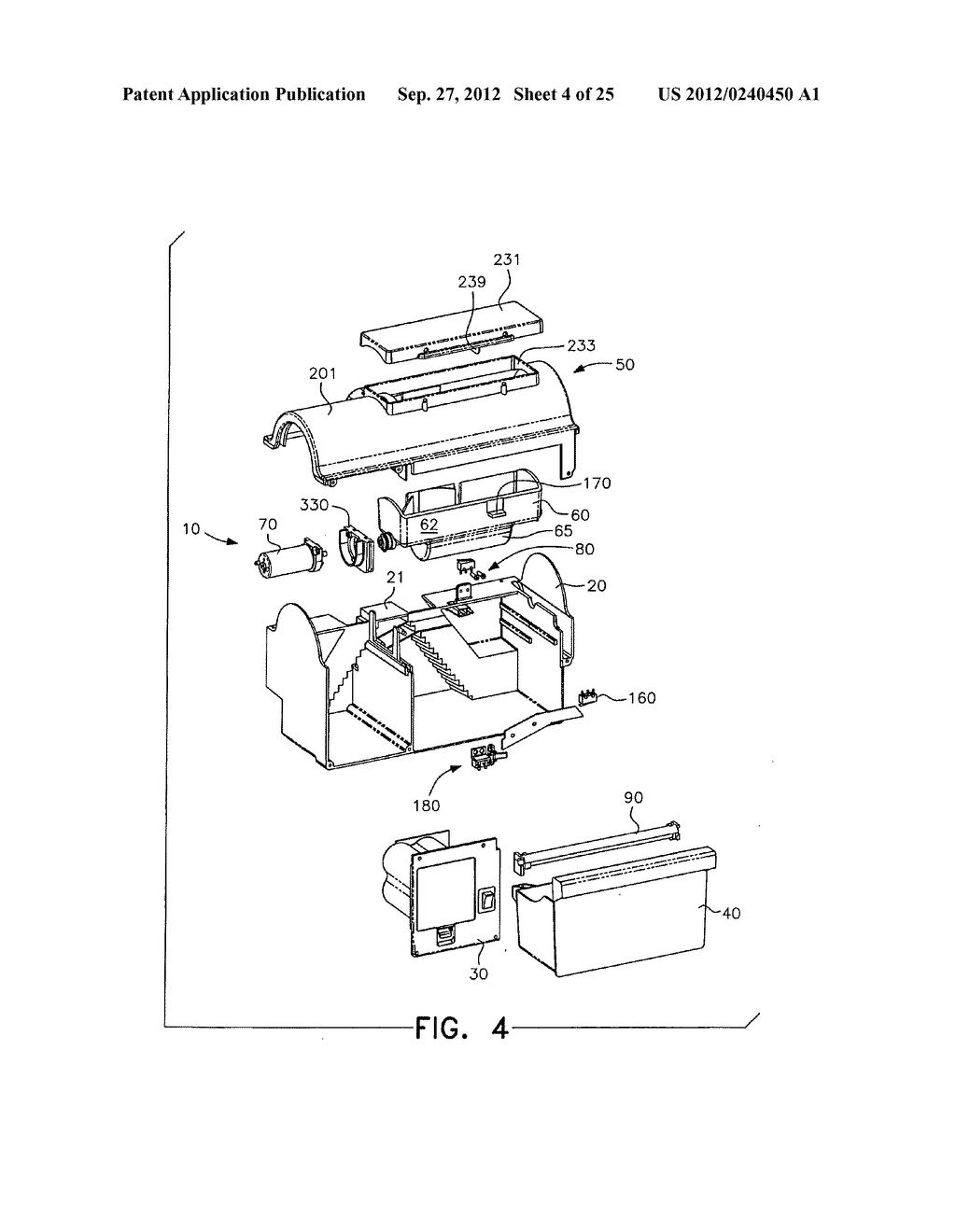 ELECTROCUTING MOUSE TRAP WITH AUTOMATIC CHAMBER-CLEARING MECHANISM - diagram, schematic, and image 05