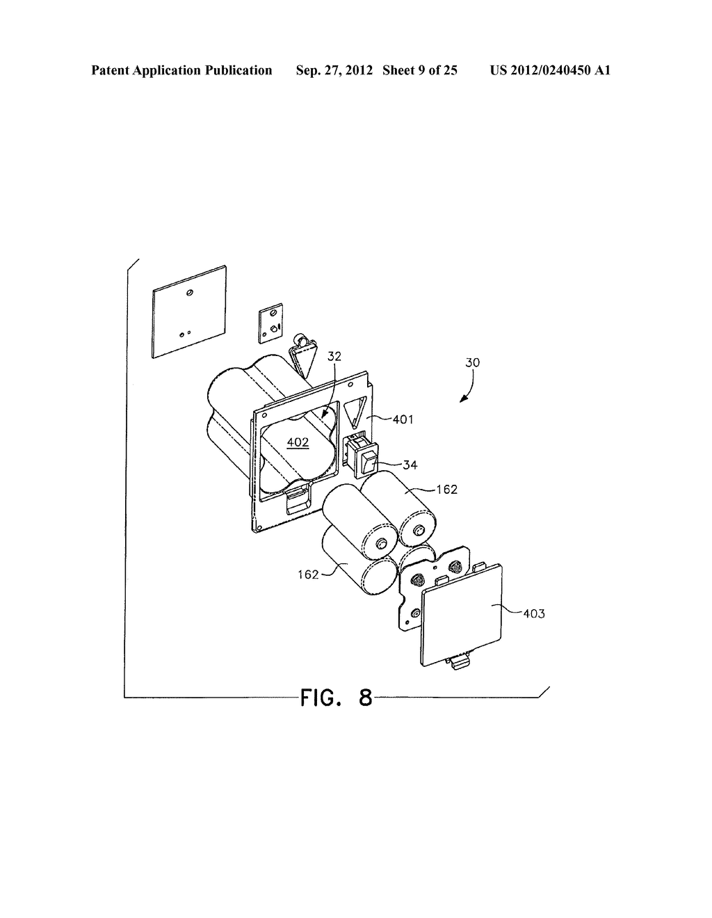 ELECTROCUTING MOUSE TRAP WITH AUTOMATIC CHAMBER-CLEARING MECHANISM - diagram, schematic, and image 10