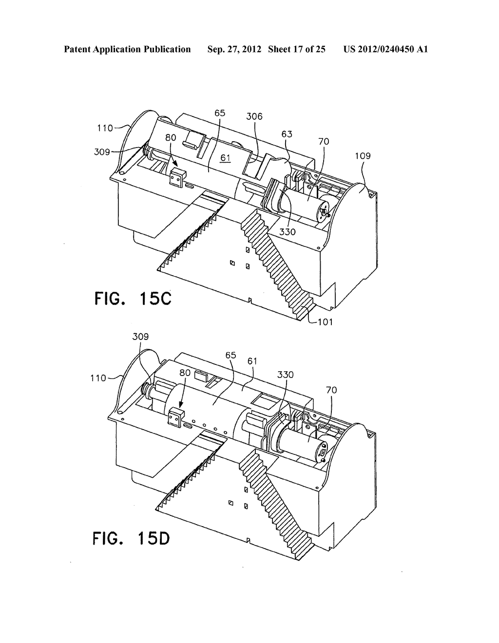 ELECTROCUTING MOUSE TRAP WITH AUTOMATIC CHAMBER-CLEARING MECHANISM - diagram, schematic, and image 18