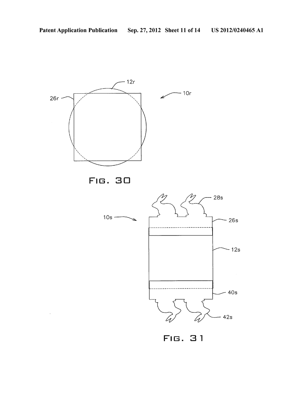 WRAPPER WITH DECORATIVE EXTENSION AND METHOD - diagram, schematic, and image 12